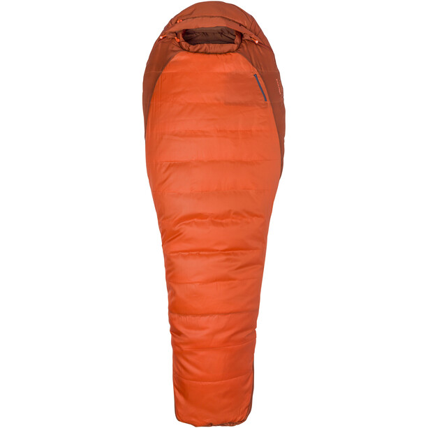 Marmot Trestles 0 Sleeping Bag Regular orange haze/dark rust