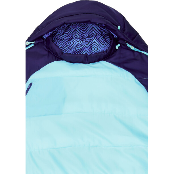 Marmot Trestles 15 Sleeping Bag Long Dam french blue/harbor blue