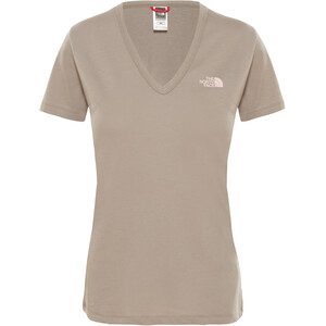 The North Face Simple Dome Kurzarm T-Shirt Damen silt grey silt grey