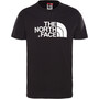 The North Face Easy Kurzarm T-Shirt Jungen tnf black/tnf white