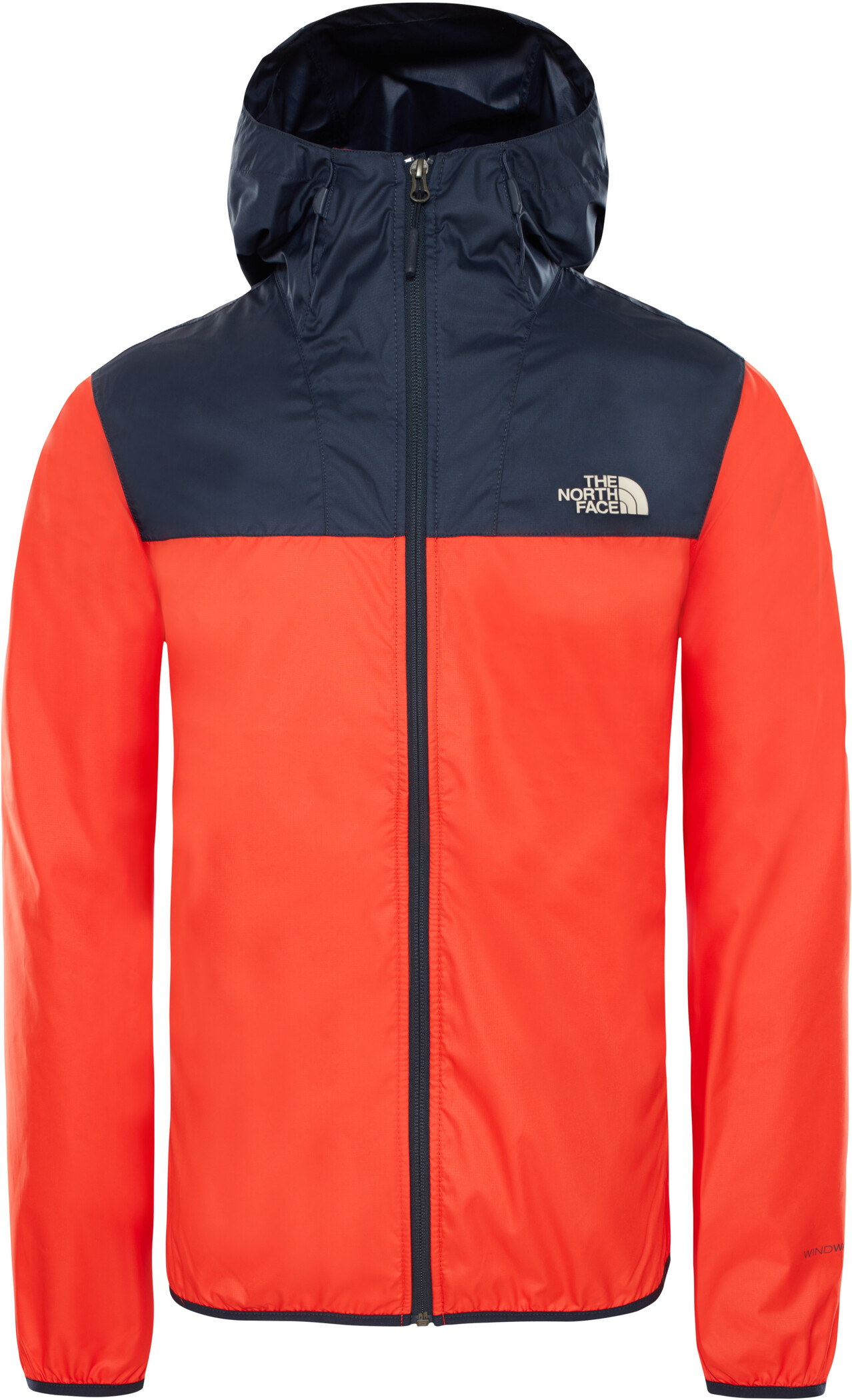 The North Face Cyclone 2.0 Kapuzenjacke Herren fiery redurban navy