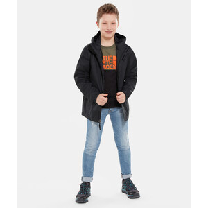 The North Face Resolve Reflective Jacke Jungen tnf black tnf black