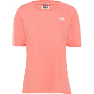 The North Face Premium Simple Dome Kurzarm T-Shirt Damen spiced coral spiced coral