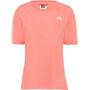 The North Face Premium Simple Dome Lyhythihainen T-paita Naiset, vaaleanpunainen vaaleanpunainen