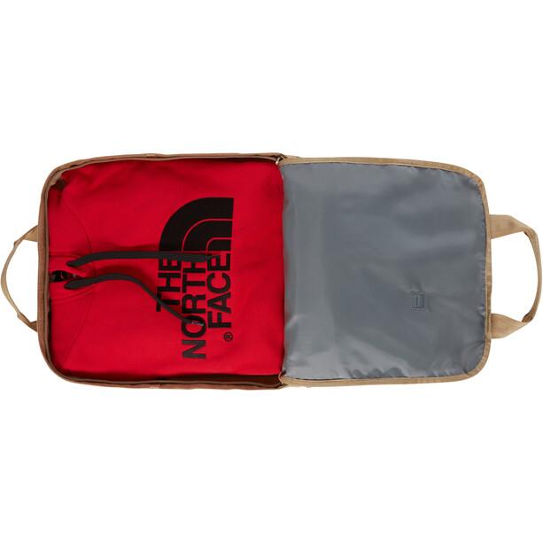 The North Face Mini Crevasse Rucksack kelp tan dark heather/asphalt grey light heather