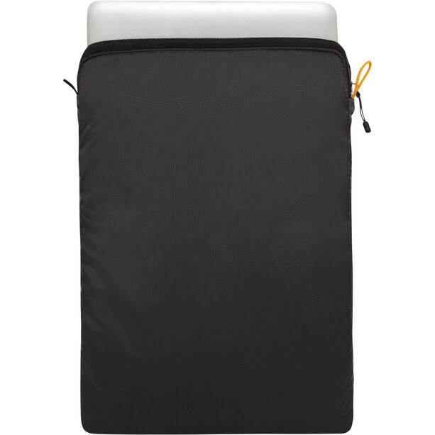 The North Face Flyweight Laptop 15 Sleeve asphalt grey/tnf black