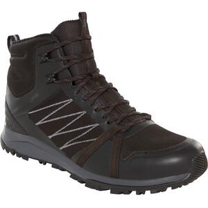 The North Face Litewave Fastpack II Mid GTX Schuhe Herren tnf black/ebony grey tnf black/ebony grey