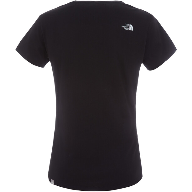 The North Face Easy S/S Tee Dam tnf black