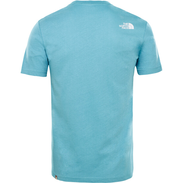 The North Face Never Stop Exploring S/S Tee Herr storm blue