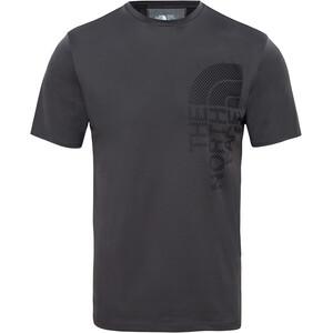The North Face Ondras S/S Tee Herr asphalt grey/tnf black asphalt grey/tnf black