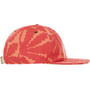 The North Face Juniper Crushable Cap spiced coral beavertail floral print
