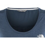 The North Face Inlux S/S Top Dam blue wing teal dark heather