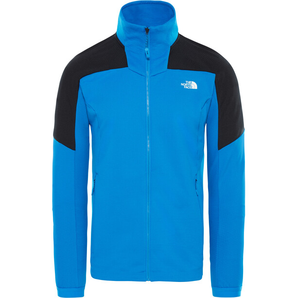 The North Face Impendor Full Zip Midlayer Herr bomber blue