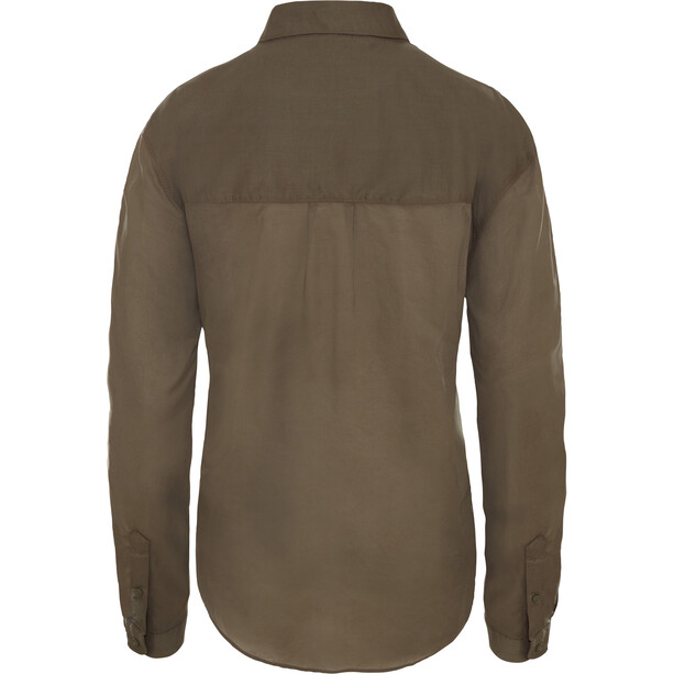 The North Face Desercana L/S Top Dam new taupe green