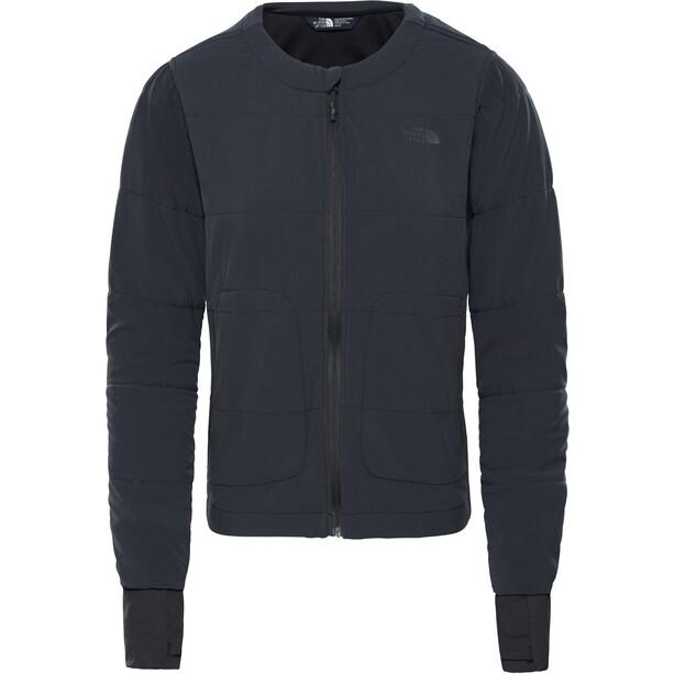 The North Face Mountain Sweatshirt Collarless Full Zip Dam tnf black