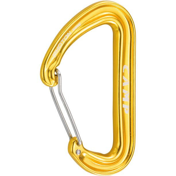Camp Photon Wire Karabiner yellow