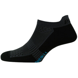 P.A.C. BK 1.1 Bike Footie Zip Socken Herren schwarz schwarz