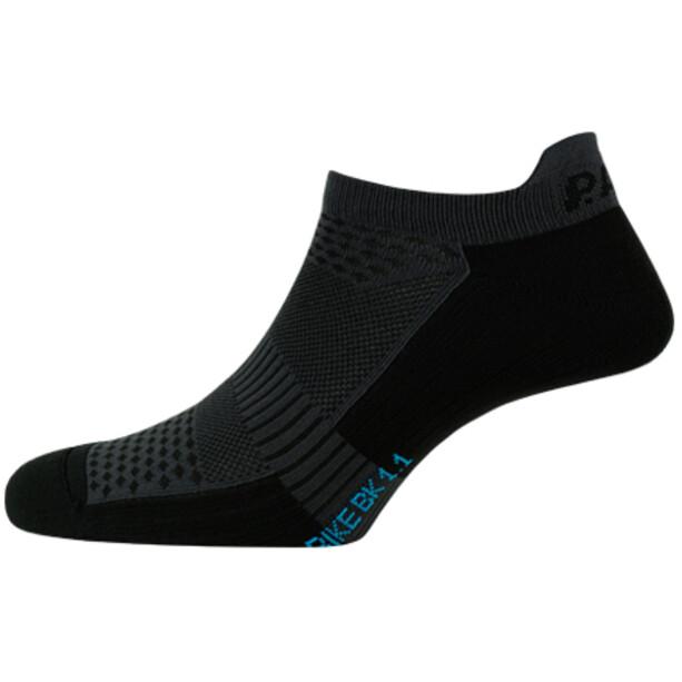 P.A.C. BK 1.1 Bike Footie Zip Socken Herren black