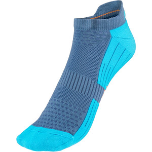 P.A.C. BK 1.1 Bike Footie Zip Socken Herren blau blau