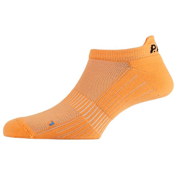 P.A.C. SP 1.0 Footie Active Kurze Socken Herren neon orange