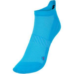 P.A.C. SP 1.0 Footie Active Korte sokker Dame Blå Blå