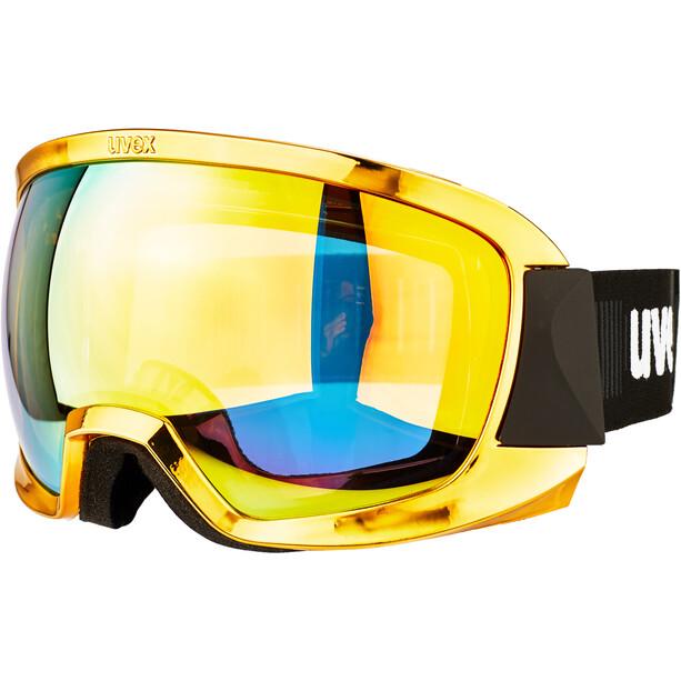 UVEX Contest FM Skibrille chrome gold