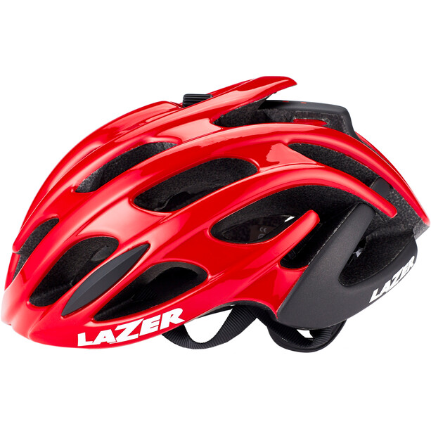 Lazer Blade+ Helm red-black