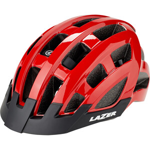 Lazer Compact Casque, red red