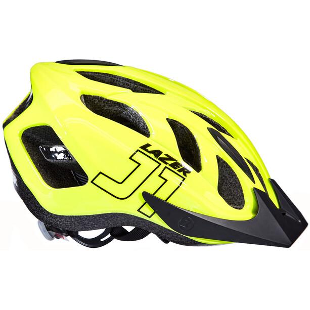 Lazer J1 Helm mit Insektenschutznetz Kinder flash yellow