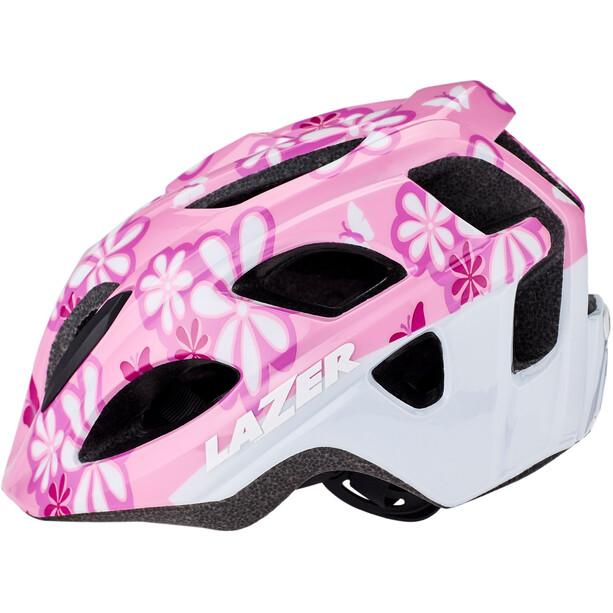 Lazer P'Nut Helm mit Insektenschutznetz Kinder pink flowers