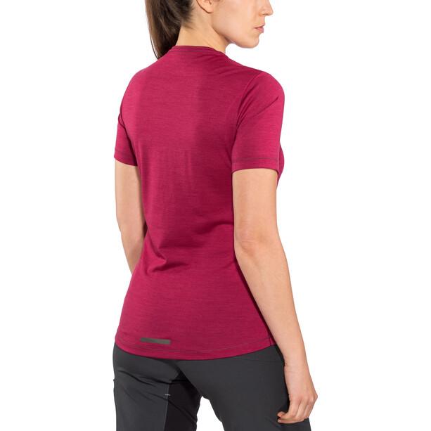 PEARL iZUMi Merino T-Shirt Dam beet red