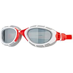 Zoggs Predator Flex Svømmebriller Polarized, hvid/rød hvid/rød