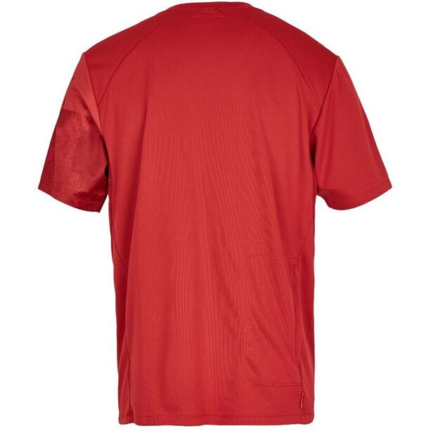 Protective Live & Loud T-Shirt Herr dark red