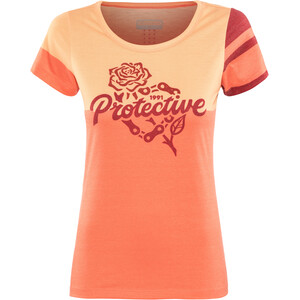 Protective P-Inner Vision T-Shirt Damen coral coral