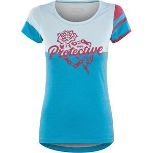 Protective P-Inner Vision T-Shirt Femme, bleu bleu