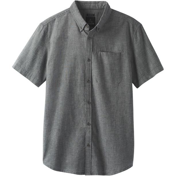 Prana Agua Slim SS T-Shirt Herren black
