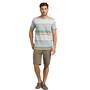 Prana Dominic Rundhals Kurzarm T-Shirt Herren agave