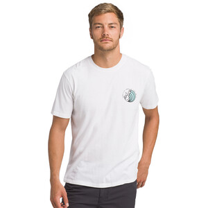 Prana KonaZona Kurzarm T-Shirt Herren white white