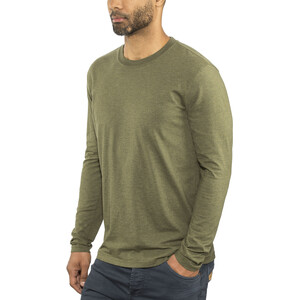 Prana Long Sleeve Rundhals T-Shirt Herren cargo green heather cargo green heather