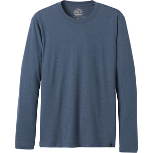 Prana Long Sleeve Rundhals T-Shirt Herren denim heather denim heather