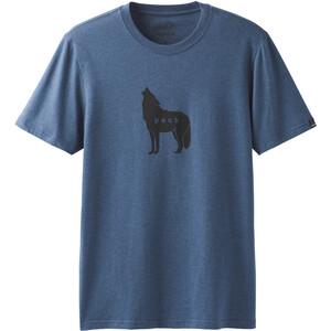 Prana Wolf Pack Journeyman SS T-Shirt Herren denim heather denim heather