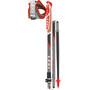 LEKI Micro Trail Vario Trail Running Poles foldable, black/anthracite/white/red/green
