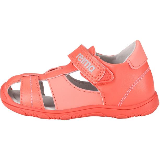 Reima Messi Sandals Barn soft red