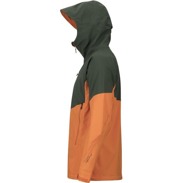 Marmot ROM Jacke Herren crocodile/mandarin orange