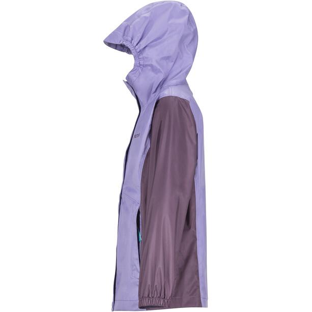 Marmot PreCip Eco Jacket Flickor paisley purple/vintage violet