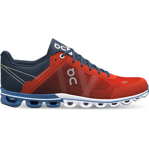 On Cloudflow Shoes Herr rust-pacific rust-pacific
