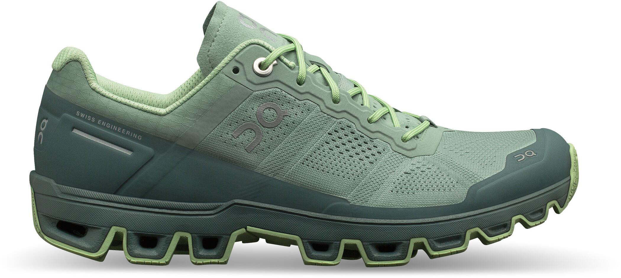 On Cloudventure Shoes Dam moss olive