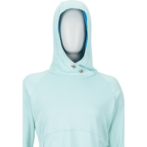 Marmot Sunrift Hoodie Damen blau blau