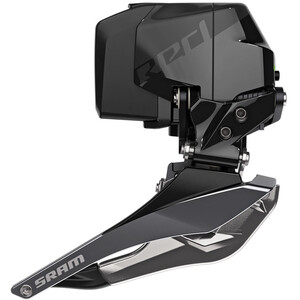 SRAM RED eTap AXS D1 Braze Front Derailleur Braze-On 2x12-speed schwarz schwarz