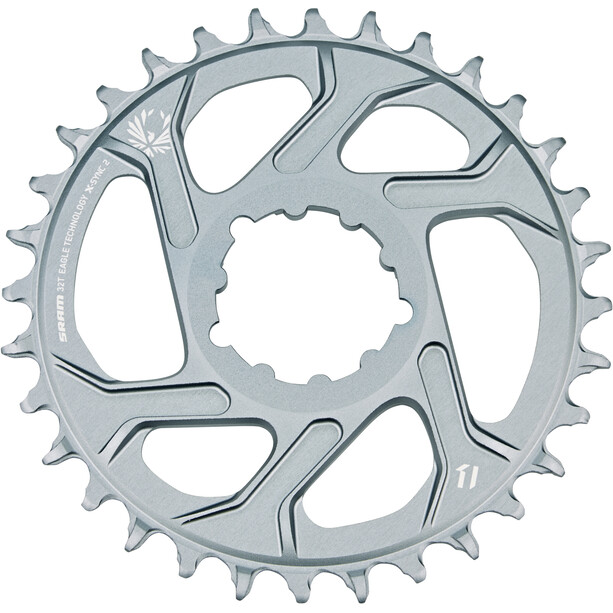 SRAM X-Sync 2 Eagle Boost Kettenblatt Direct Mount 12-fach grey